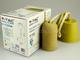 V-TAC Ceso beton lámpafoglalat (E27) színes kábellel - sárga