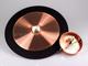 V-TAC Fém tányéros csillár Plate (E27) - rózsaarany
