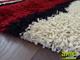 Függöny Center Shaggy szőnyeg 5 cm-es, (0211A) Piros 120x200 cm