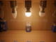 V-TAC LED lámpa E14 (6W/180°) Kisgömb - meleg fehér