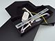 V-TAC Design beltéri LED lámpatest Pira, fekete (9W) természetes fehér