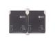 EMOS Kültéri fali aljzat, dupla, IP44, szürke