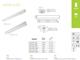 Kanlux ALDO szabadonsugárzó lámpatest LED fénycsőhöz (120 cm/T8)