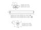 Kanlux ALDO szabadonsugárzó lámpatest LED fénycsőhöz (60 cm/T8)