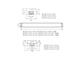 Kanlux ALDO szabadonsugárzó lámpatest 2 db LED fénycsőhöz (120 cm/T8)
