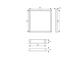 Kanlux Design LED panel Avar (600 x 600mm) 40W - természetes fehér