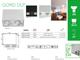 Kanlux Falon kívüli spot lámpatest Gord DLP-250, dupla, alu (GU10)