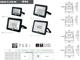 Kanlux GRUN mozgásérzékelős LED reflektor (10W) 4500K - Fekete