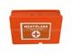 I elsősegély doboz (narancs) fali tartóval