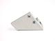 Lumines Alu profil eloxált (I10) bal oldali végzáró (10mm) vastag