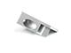 Lumines Type-I10 Végzáró üveglap szorító alu profilhoz - polc készítéshez - jobb oldali