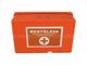 II elsősegély doboz (narancs) fali tartóval