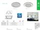 Kanlux IVIAN LED panel IP44 (4.5W) mattkróm - természetes fehér
