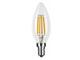 MODEE E14 LED izzó Retro filament (4W/360°) Gyertya - természetes fehér