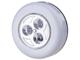 EMOS - Nyomógombos, elemes LED lámpa csomagban (3 darab)