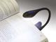 EMOS Csiptetős LED olvasólámpa, elemes, fekete-kék