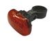 EMOS Elemes LED kerékpárlámpa (3 LED) hátsó, piros