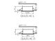 Kanlux QULES AC-L beépíthető spot lámpatest, négyzet, fehér