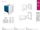 Kanlux Oldalfali lámpatest TAXI LED-SMD (0.6W) meleg f., négyzet
