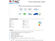 V-TAC LED lámpa E14 (8W/230°) T37 rúd - meleg fehér, PRO Samsung