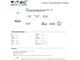 V-TAC Ledes design csillár (20W) - meleg fényű, dimmelhető, fehér