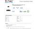 V-TAC Ledes design csillár (30W) - meleg fényű, dimmelhető, fekete