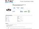 V-TAC Ledes design csillár (30W) - meleg fényű, dimmelhető, kávébarna