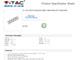 V-TAC Hosszabbító 4-es elosztóval (4 földelt) fehér - 3m vezetékkel