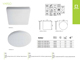 Kanlux IP54 VARSO LED panel falon kívüli - kör (18W)  természetes fehér