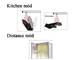 EMOS SMARTBAR LED lámpatest (11W, 80cm) közelségérzékelős, 4000K