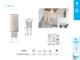 Kanlux LED lámpa G9 (4W/300°) Rúd - meleg fehér