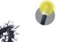 EMOS LED fényfüzér (3W/50 LED) meleg f., gömb, beltéri