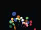 EMOS LED fényfüzér (6W/100 LED) Multicolor, gömb, beltéri