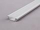 LED Profiles ALP-001 Aluminium U profil fehér - LED szalaghoz, opál burával