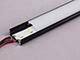 LED Profiles ALP-002 - Aluminium U profil fekete, LED szalaghoz, opál burával