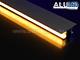Alu-LED ALP-050 Aluminium oldalfali profil ezüst, két LED szalaghoz, opál burával Kifutó!