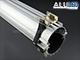 ANRO LED ALP-059 Aluminium profil ezüst, gipszkartonba / függesztve, átlátszó bura Kifutó!