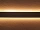 Alu-LED APW-1070 Alu profil oldalfali LED világításhoz ezüst, két LED szalaghoz, opál bura