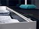 Lumines Alu profil eloxált (Type-C) sarokprofil LED szalaghoz, opál bura