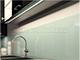 Lumines Type-Z - Süllyeszthető LED szalagos alu profil - ezüst - átlátszó burával