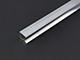 Építő - barkács profilok - Alumínium üvegszorító profil (15x15 mm) nyers