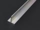 Építő - barkács profilok - Alumínium T profil (20x20x2 mm) nyers