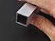 Építő - barkács profilok - Alumínium zártszelvény (20x20x2 mm) nyers