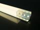 LED Profiles ALP-016S Aluminium sarokprofil ezüst, LED szalaghoz, opál burával