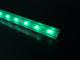 LED Profiles ALP-005 Aluminium sarok profil ezüst, LED szalaghoz, átlátszó burával