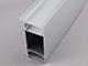 Alu-LED ALP-049 Aluminium oldalfali profil ezüst, két LED szalaghoz, opál burával