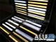 ANRO LED ALP-024 Aluminium lépcső profil ezüst, LED szalaghoz, opál burával