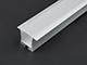 Alu-LED Aluminium profil eloxált (ALP-031) LED szalaghoz, opál