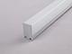 ANRO LED ALP-029 Aluminium függeszthető profil ezüst, LED szalaghoz, opál burával