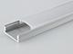 RS Alumínium RS profil eloxált (LEDECO) LED szalaghoz, opál